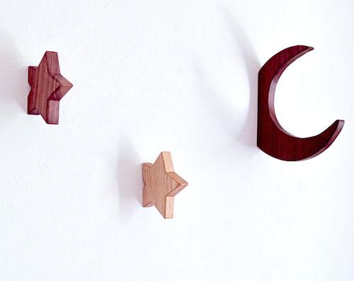 木製フック3