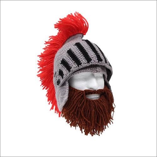 フウビの男性向け人気ギフト雑貨・髭(ヒゲ)付きニット帽子