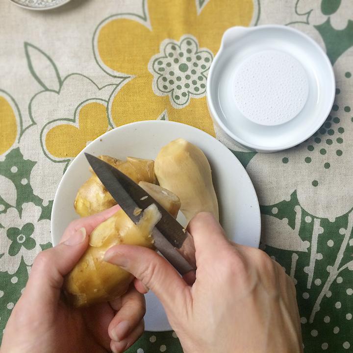 ホットジンジャーレモンの作り方・レシピ