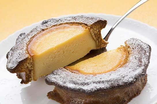 チーズの詰まったバウムクーヘン