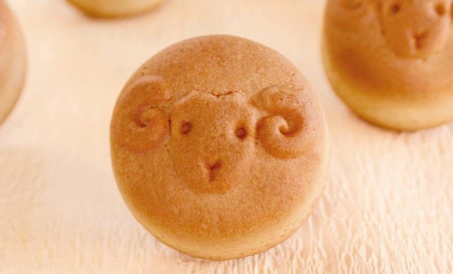 石川県金沢市・和菓子の「福うさぎ」の一口饅頭(ひとくちまんじゅう)