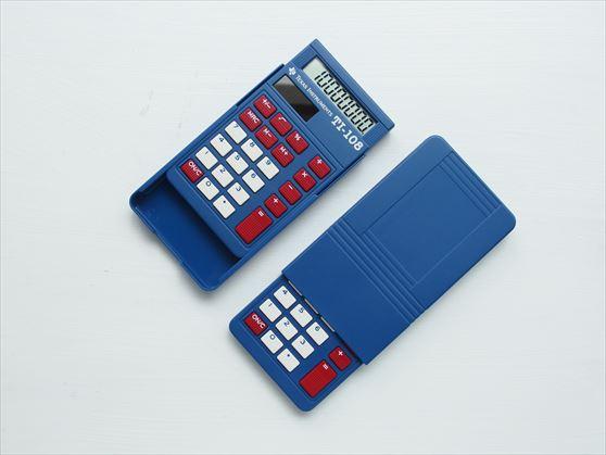 星条旗カラーのポップなデザイン電卓