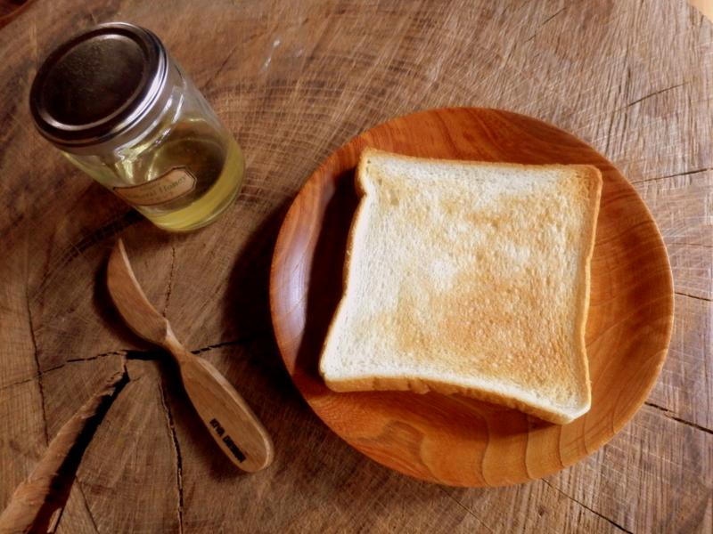 KIYA DESIGNの木のバターナイフ