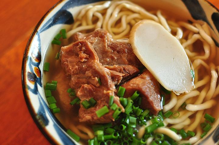 沖縄そば・軟骨ソーキ・本ソーキそば3種セット