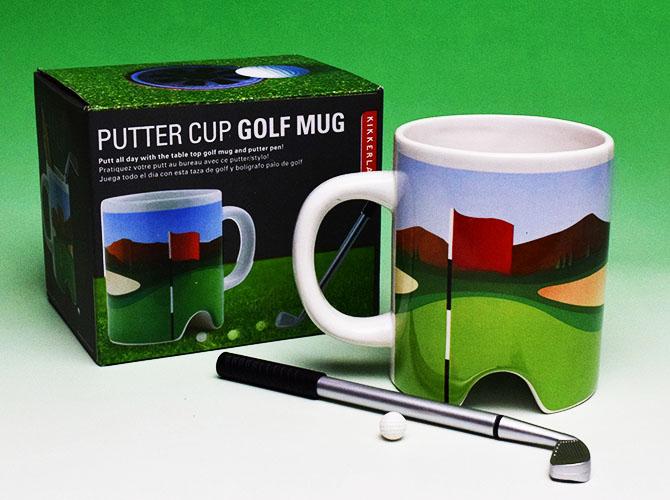 ゴルフ マグ & パター ペンセット
