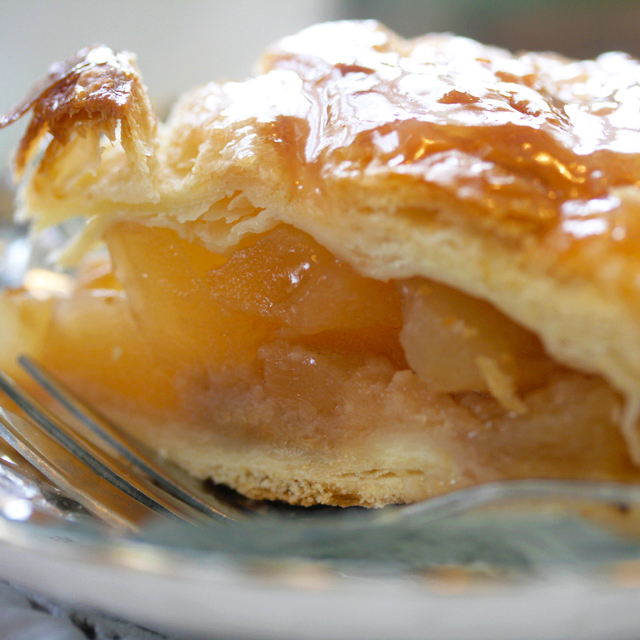 八ヶ岳、紅玉りんごのアップルパイ