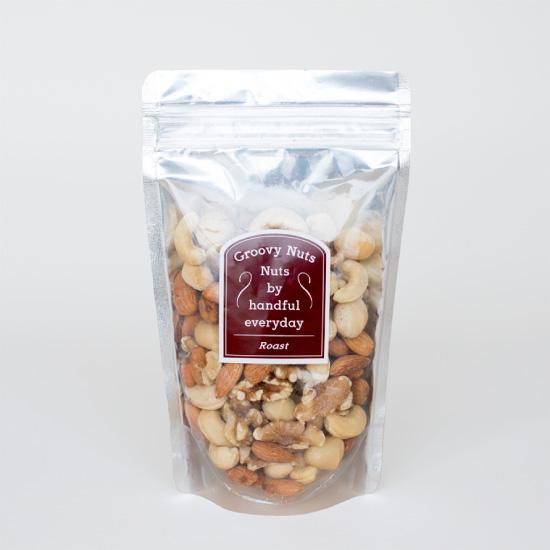 Groovy Nutsのローストナッツ