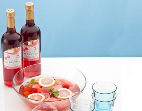 高畠ワイナリーのさくらんぼワイン