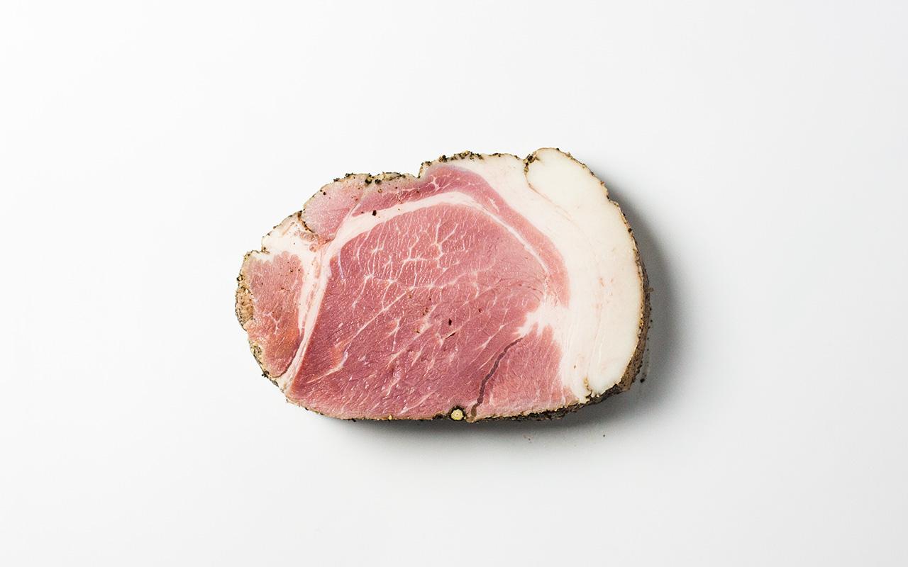 ELEZOの放牧豚のハム