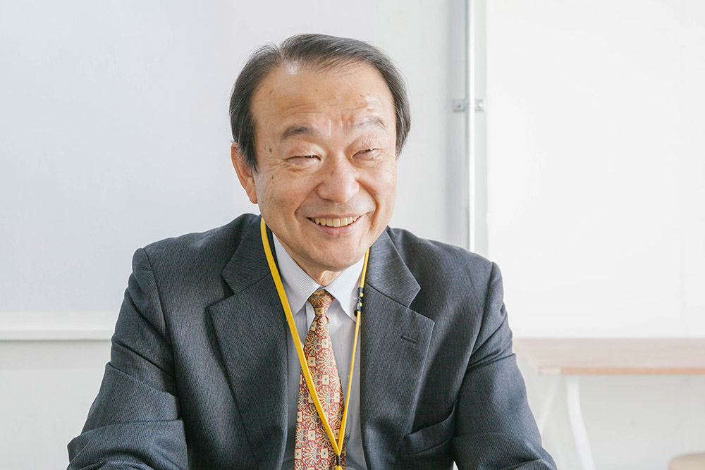 お話をしてくれたのは関谷理化株式会社 営業部部長・猪野和雄さん。