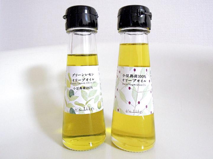 小豆島といえばオリーブ畑。ちょっとだけ緑がかった黄金色がきれいです。