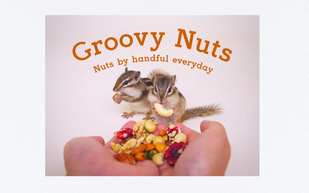 Groovy NutsのTOPページ。