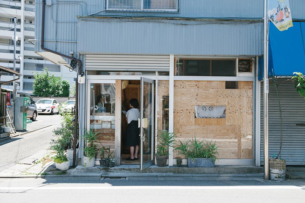 世田谷区深沢にある工房へやってきました。