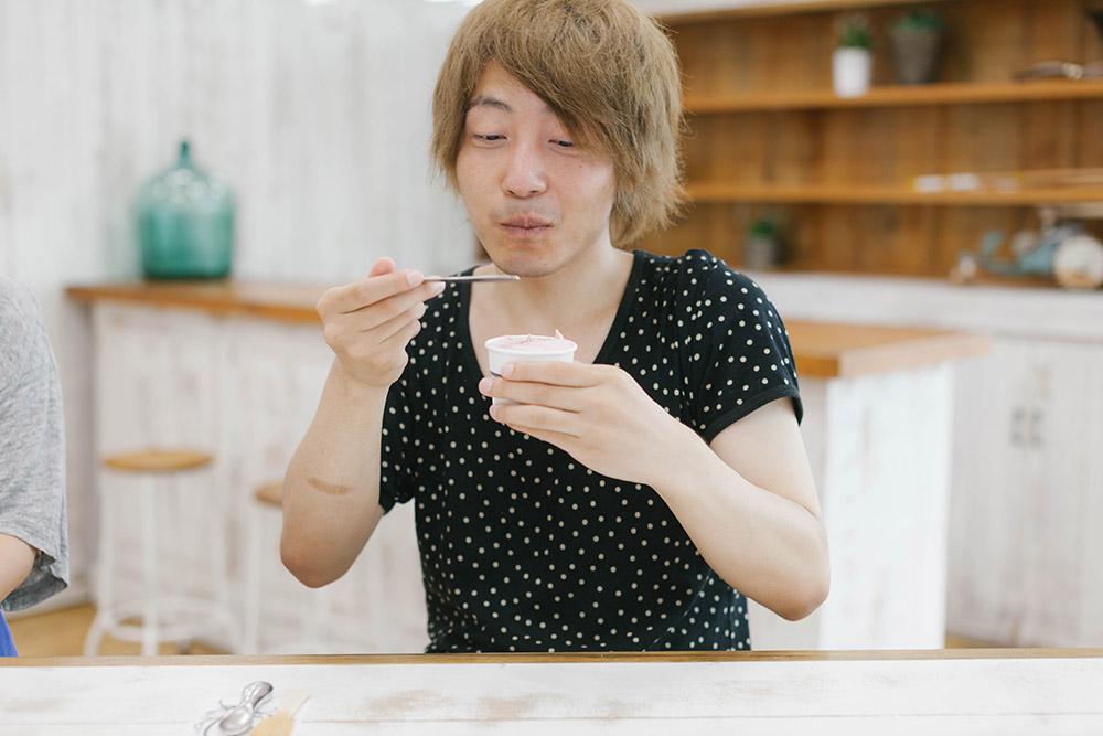 ハンサムが最後に選んだのは「Sabo Studio Ice Cream Spoon」