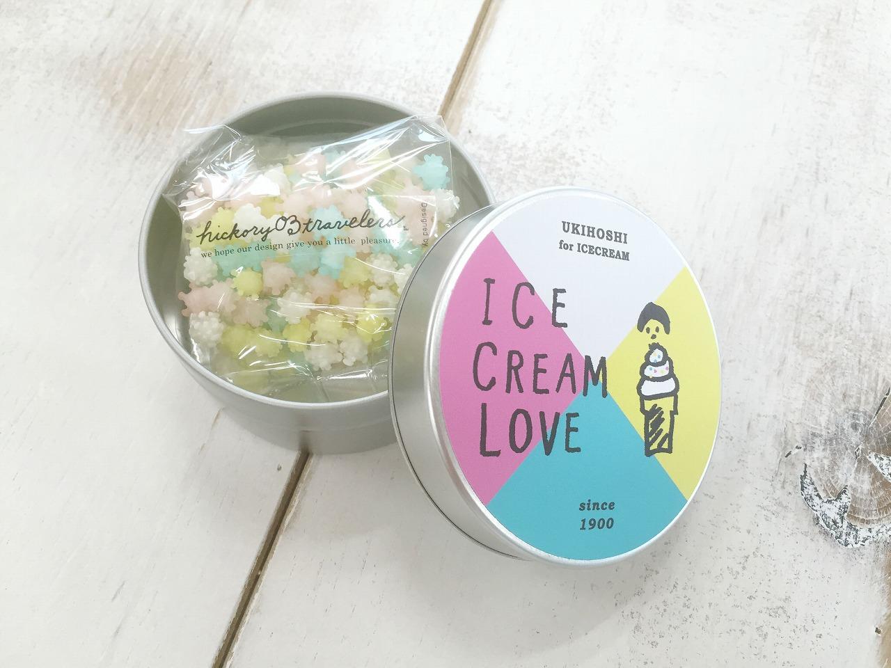 いちご・ミルク・ミント・柚子味を合わせたフレーバーミックス「浮き星 for ice mix16」。