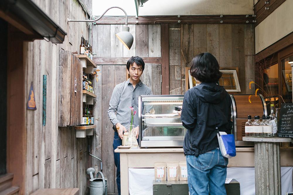 熊本市上乃裏通りの古民家カフェ タルト専門店タルトレット インタビュー