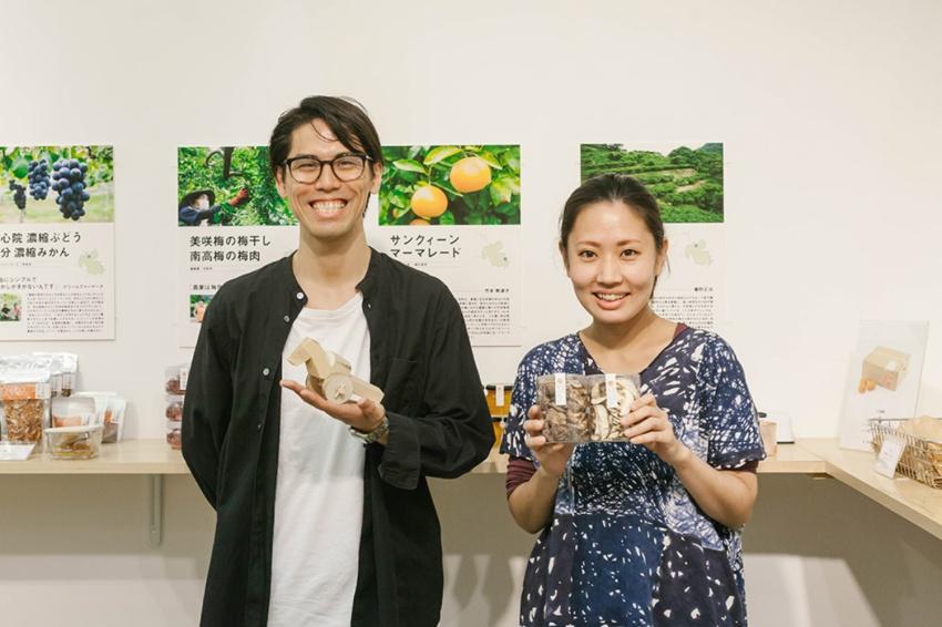 お話を伺ったのは、熊谷さん(左)とサダヒラさん(右)。