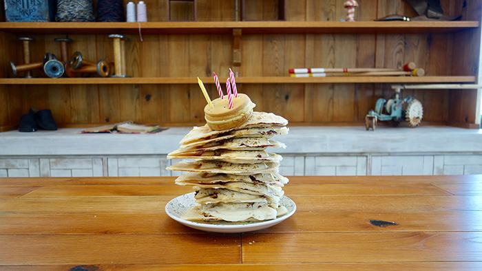 10匹ぶんのたい焼きケーキで誕生日をお祝いしました【編集部の交換日記】
