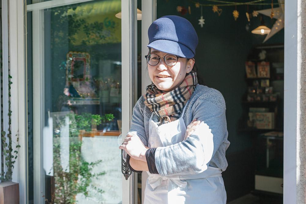 ステカ&モジョル 店長の川口明子さん。