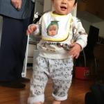 SUZURIでつくったスタイを、甥っ子にプレゼントしました。【編集部の交換日記】