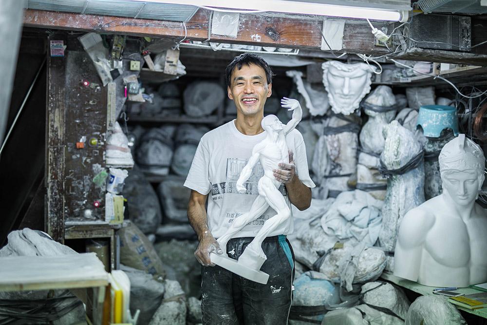 日本一の生産量と情報量!「石膏像ドットコム」を営む小さな工房・堀石膏制作の話【前編】