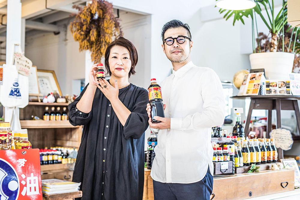 醤油屋になったきっかけは夕食の冷奴! 夫婦で営む「タケシゲ醤油」の話【前編】